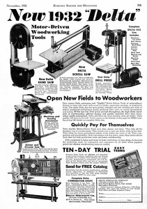 Delta Power Tools -1931A