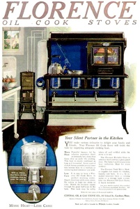 Florence Oil Cook Stoves -1920's