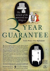General Electric Refrigerators -1931A
