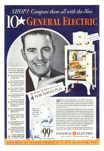 General Electric Refrigerators -1933A