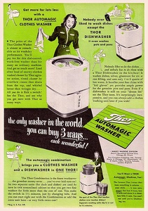 Thor Washer and Dishwasher -1949A
