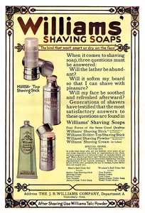 Williams' Shaving Soap  -1913A