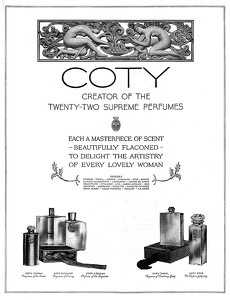 Coty Perfumes -1927A