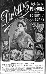 Delettrez Perfumes and Toilet Soaps -1901A