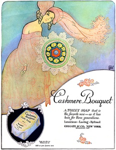 Cashmere Bouquet Soap -1923A