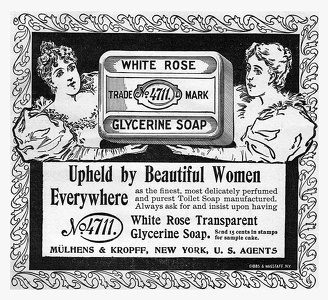 White Rose Glycerine Soap -1897A