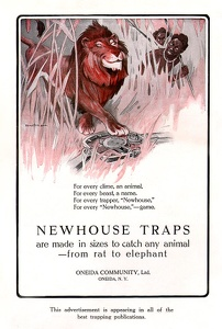 Newhouse Traps -1914A