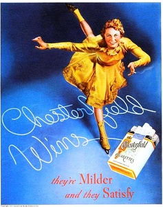 Chesterfield Cigarettes -1937D