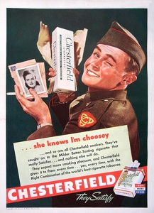 Chesterfield Cigarettes -1944A