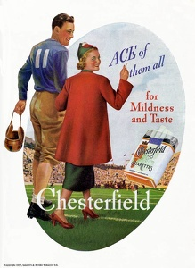 Chesterfield Cigarettes -1937B