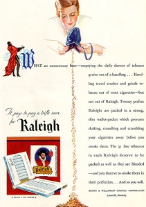 Raleigh Cigarettes -1930A