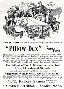 Parker Brothers Pillow-Dex -1896A