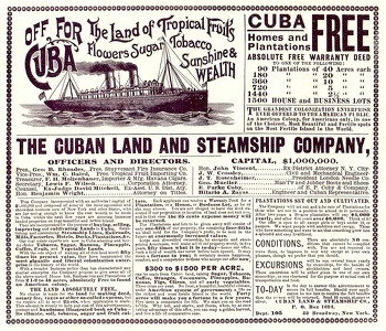 Cuban Land and Steamship Company -1899A
