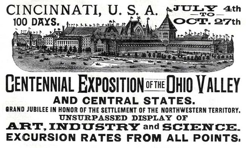 Centennial Exposition of the  Ohio Valley -1888A