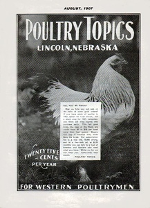 Poultry Topics 1907-08