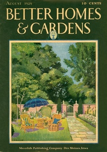 Better Homes and Gardens 1929-08