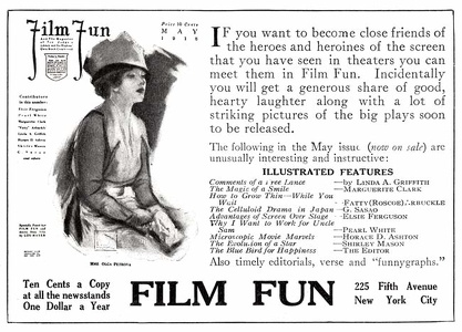 Film Fun 1918-05 Ad