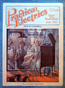 Practical Electrics 1922-07