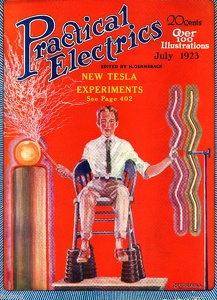 Practical Electrics 1923-07