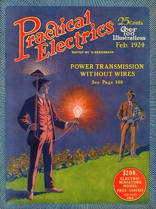 Practical Electrics 1924-02
