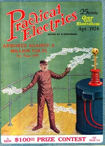 Practical Electrics 1924-04