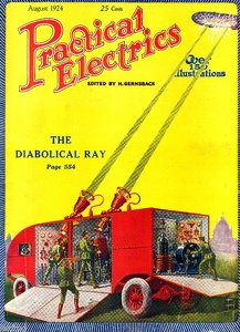 Practical Electrics 1924-08