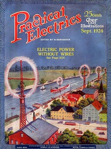 Practical Electrics 1924-09