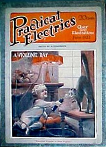 Practical Electrics 1922-06