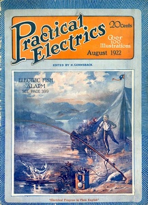 Practical Electrics 1922-08