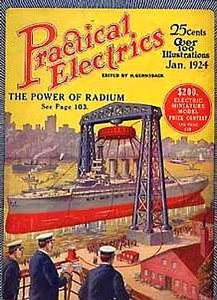 Practical Electrics 1924-01