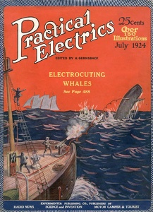 Practical Electrics 1924-07