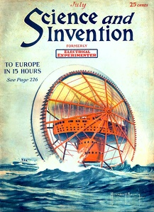 Science and Invention 1921-07