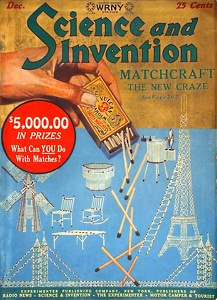 Science and Invention 1925-12
