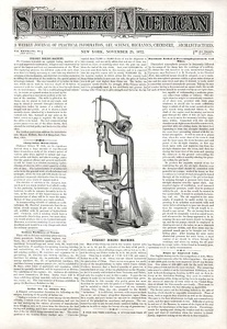 Scientific American 1872-11-23