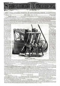 Scientific American 1875-05-22