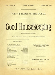 Good Housekeeping 1890-07-19