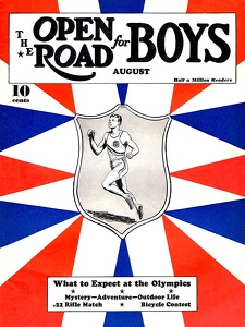 Open Road for Boys 1936-08