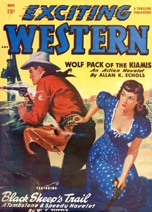 Exciting Western 1949-11