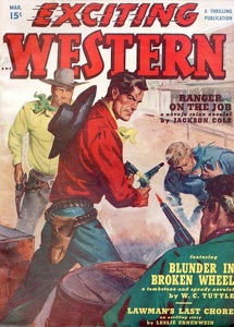Exciting Western 1950-03
