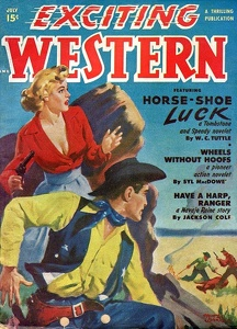 Exciting Western 1950-07