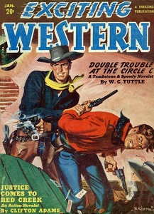 Exciting Western 1951-01