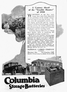 Columbia Storage Batteries -1920A