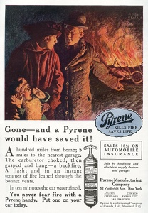 Pyrene Fire Extinguishers -1919A