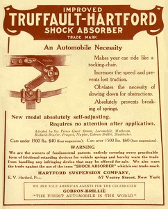 Truffault-Hartford Shock Absorbers -1906A