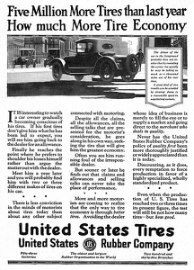 United States Rubber Company Tires -1920A