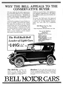 Bell Cars -1921A