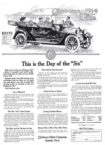 Chalmers Automobiles -1913A