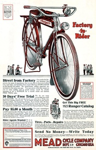 Mead Bicycles -1923A