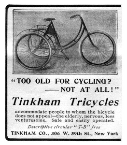 Tinkham Tricycles -1901A