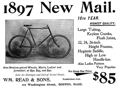 Wm. Read Bicycles -1897A